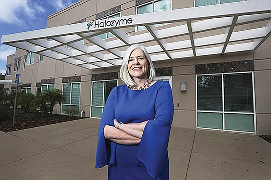 """Our investors have articulated that what will transform the potential of Halozyme is success in pancreas cancer,"" CEO Helen Torley told the San Diego Business Journal in March."