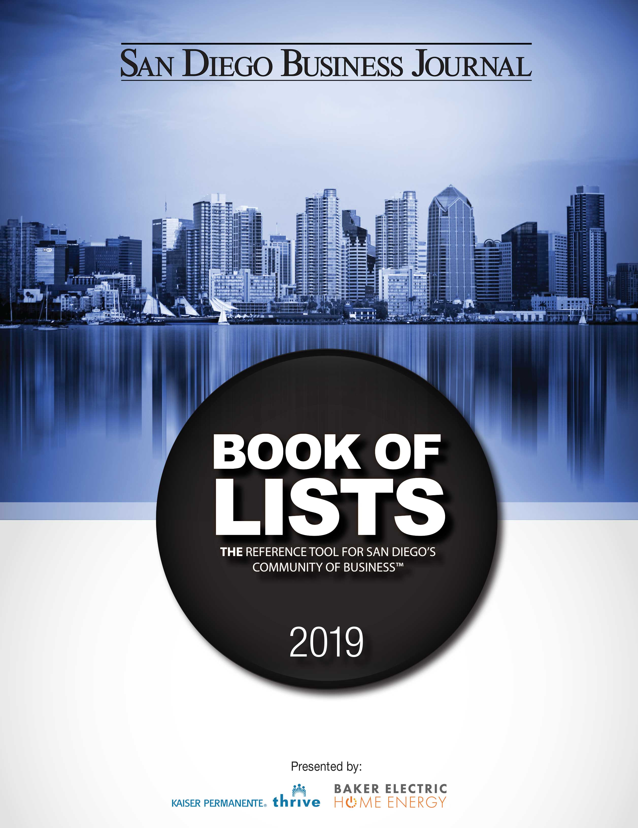 SDBJ Book of Lists | San Diego Business Journal