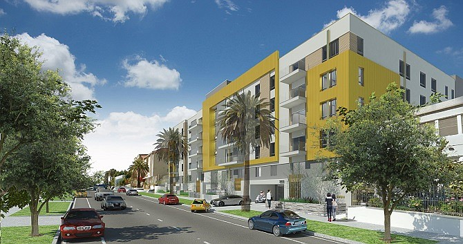 Rendering of the Golden Galaxy Plaza Condominiums project