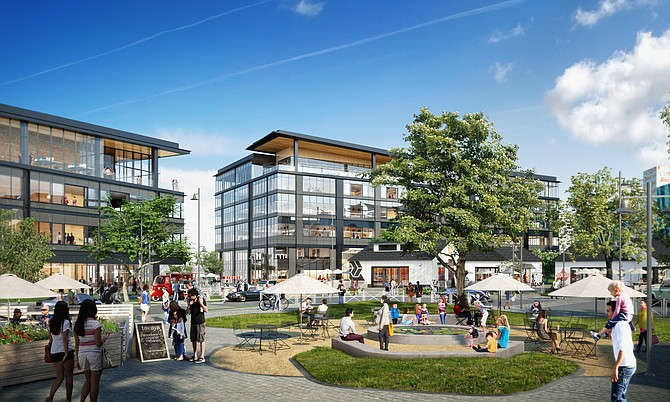 Rendering of One Paseo.