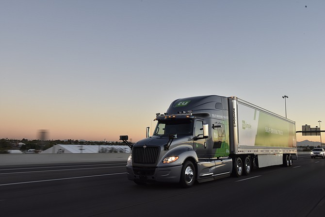 San Diego-based TuSimple makes fully autonomous trucks. The company plans to expand its fleet from 11 to 40 trucks by June of 2019.