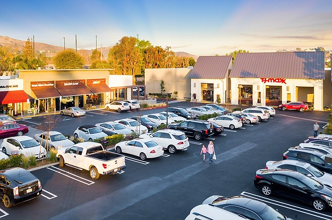 North Ranch Gateway shopping center at 30805 Thousand Oaks Blvd. in Westlake Village.