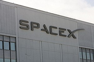 SpaceX's HQ in Hawthorne. (Photo by Ringo Chiu)