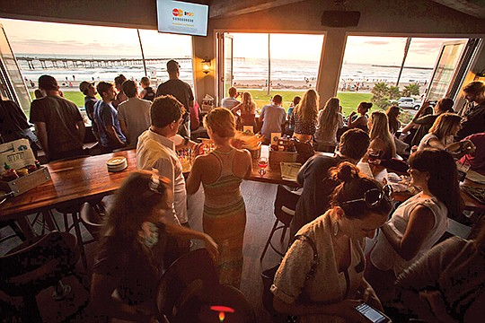 Wonderland Ocean Pub was named after Ocean Beach's rich history, which featured a park by the same name 100 years ago, according to Huffman. Photo courtesy of Social Syndicate