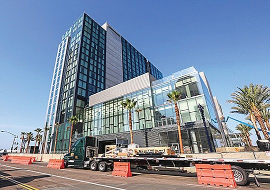 The 400-room InterContinental in San Diego was the largest hotel to open in the state for 2018. It joined six other hotel openings in San Diego for that year.