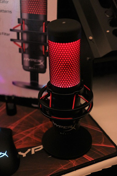 HyperX gaming microphone from Kingston Technology