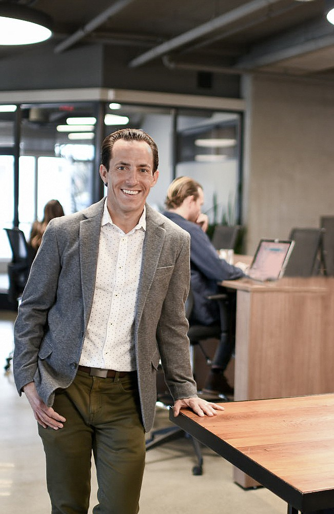 Jacob Bates, CEO of CommonGrounds Workspace, said the company plans to add 50 new locations in the next two years.