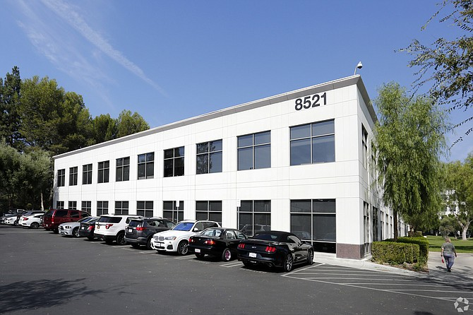 Corporate Pointe West Hills at 8521 Fallbrook Ave.