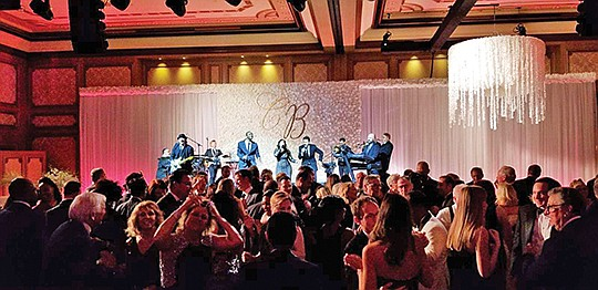 The Mighty Untouchables perform at Scripps Health Foundation's sold out 89th Annual Candlelight Ball. Photo courtesy of Bob Ross Photography