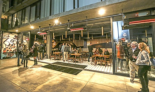 Trust Restaurant Group officially opened Fort Oak last week, a restaurant and bar with a focus on seafood in Mission Hills.