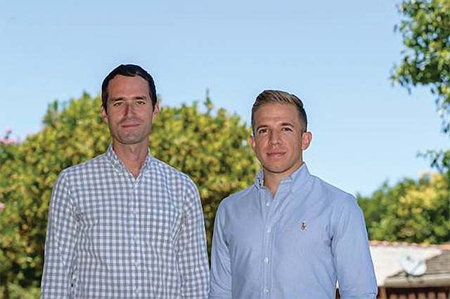 Going with Flow: Flowspace founders Ben Eachus, CEO, and Jason Harbert, CTO.