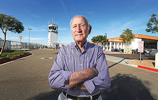 Ted Vallas, the  majority owner of California Pacific Airlines. File photo by Jamie Scott Lytle