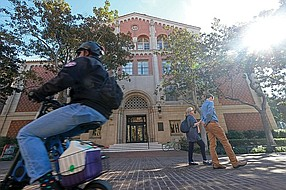 USC's Marshall School of Business (photo by Ringo Chiu)
