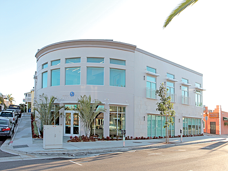 Big Fish: Marlin Equity's headquarters in Hermosa Beach.