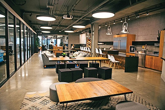 CommonGrounds Workplace opened its first site in Carlsbad two years ago. Now, fresh off a $100 million investment, the company plans to add 50 new locations across the country. Photo courtesy of CommonGrounds