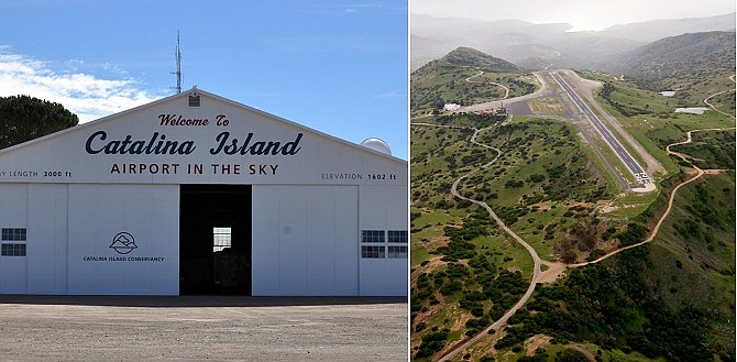 Catalina's Airport in the Sky (photo via www.catalinaconservancy.org)