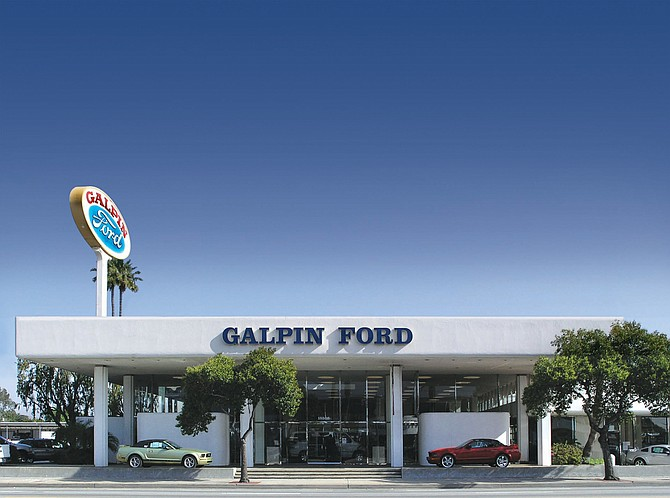 Galpin Ford in North Hills.