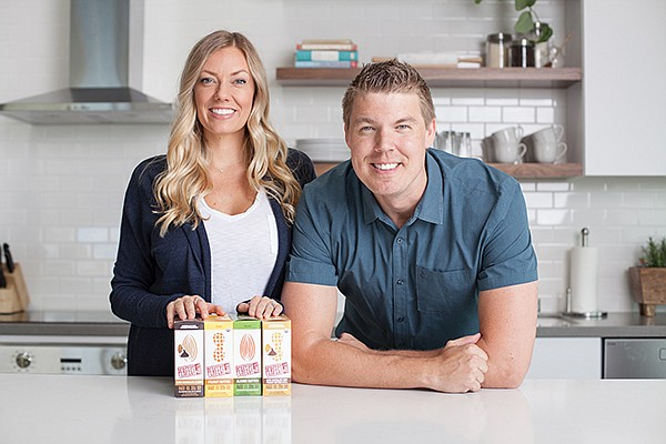 Bill and Leigh Keith launched a business inspired by their dad's refrigerated, nutritional whole-food supplement bar recipe. Photo courtesy of Perfect Snacks