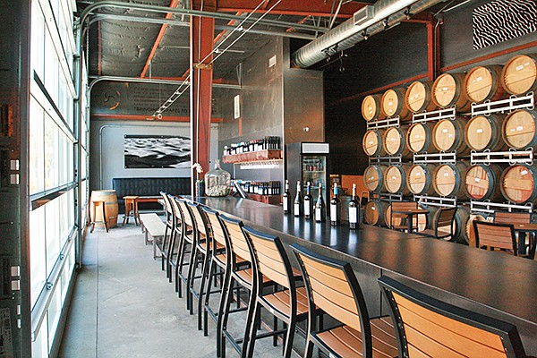 The 2,000-square-foot Carruth Cellars Tasting Room in Carlsbad opened in 2016. Photo courtesy of Carruth Cellars