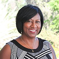 Cynthia Rice, MiraCosta College's vice president of institutional advancement, received the Dr. Martin Luther King Jr. Community Service Award. Photo courtesy of MiraCosta College