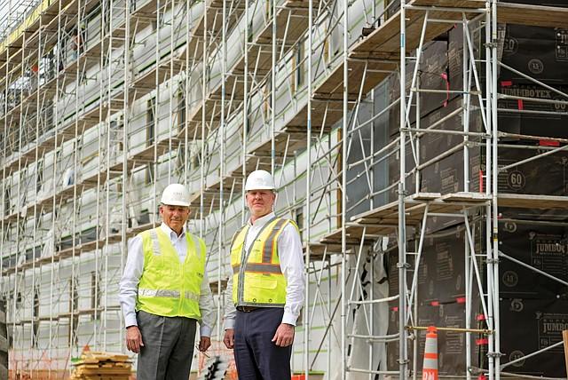 On the Job: C.W. Driver CEO Dana Roberts and President Karl Kreutziger.