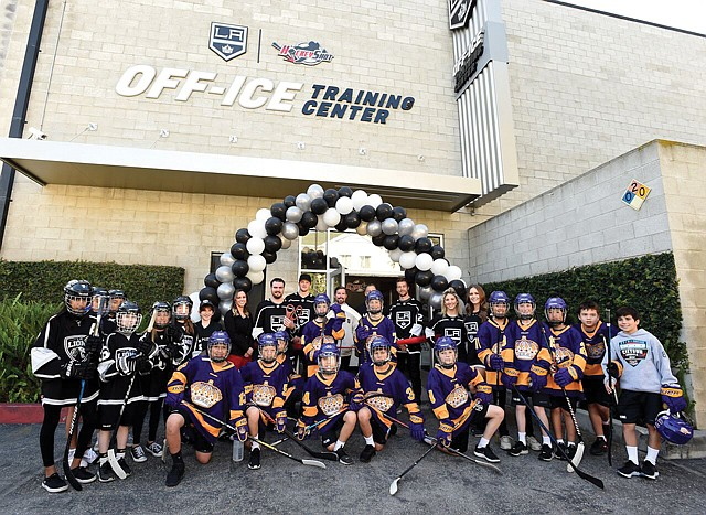 Off Ice: The Los Angeles Kings' new training facility in El Segundo.