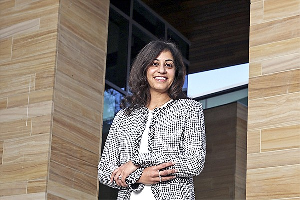 Sheila Gujrathi, the CEO of Gossamer Bio. The company got caught up in the government shutdown freezing the initial public offering market.
