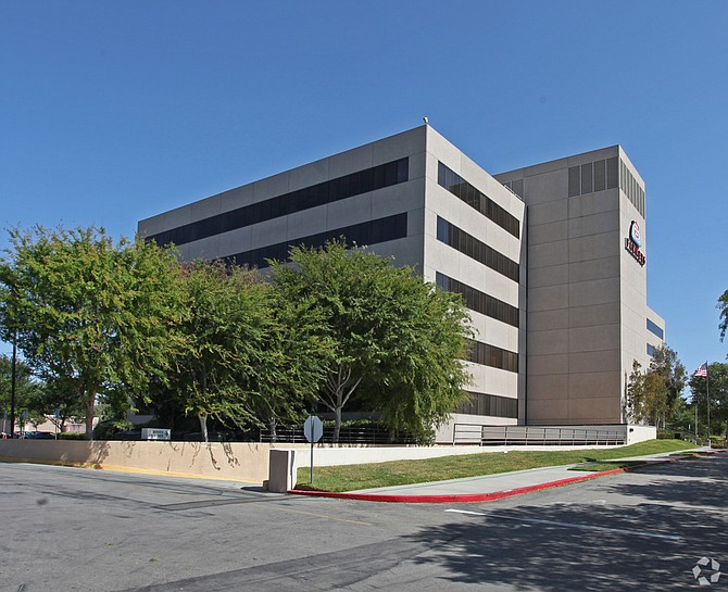 Former Farmers Insurance building at 3039 Cochran St. in Simi Valley.