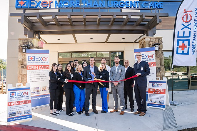Ribbon-cutting ceremony at 14550 Soledad Canyon Road in Canyon Country.