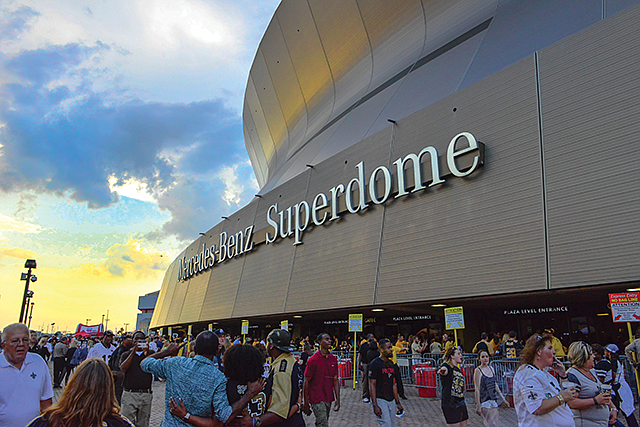 Mega Manager: The Mercedes-Benz Superdome in New Orleans is now under ASM management.