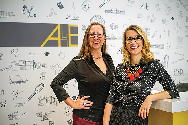 Structural Change: A4E promotes Rachel Adams (left) and Olivia Graf Doyle.