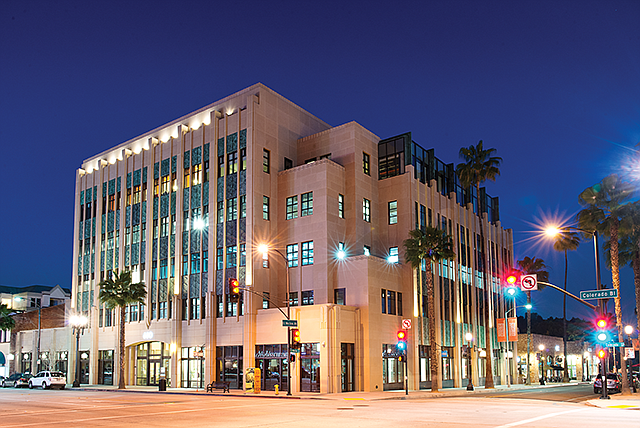 Taking Spaces: Firm gets 49,000 square feet at Playhouse Plaza in Pasadena.