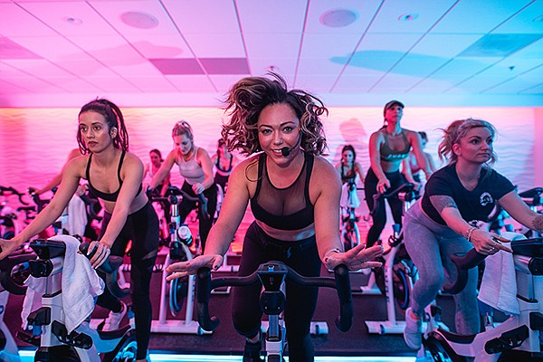 On any given week,  Pure Indoor Cycling has approximately 400 members take classes there. Photo courtesy of Pure Indoor Cycling Inc.