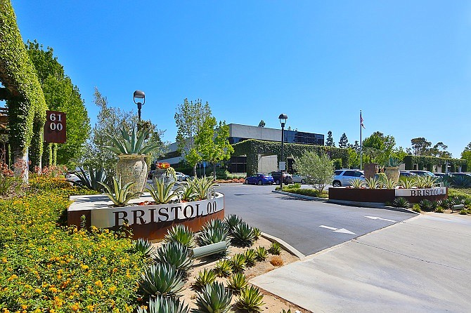 The Bristol 61 creative office campus in Culver City