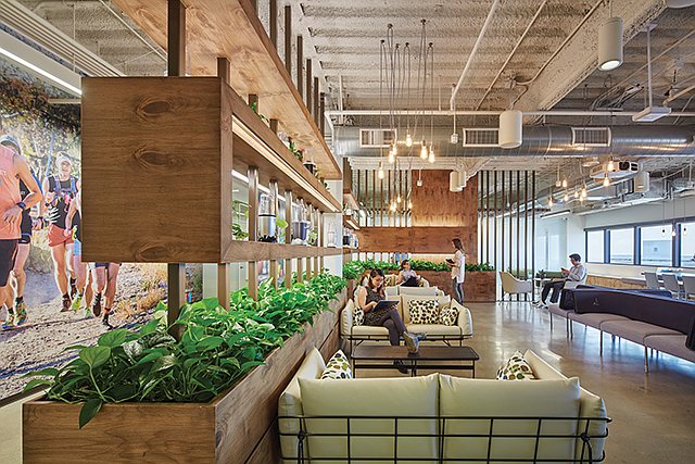 Design Build: HKS did tenant improvement work on Capital Brands' new Brentwood office.