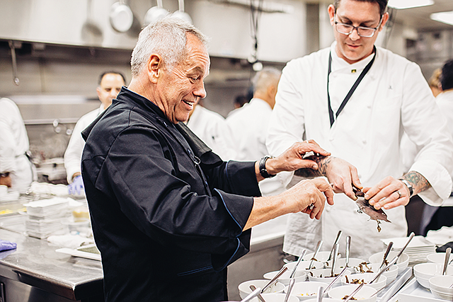 Awards Fixture: Wolfgang Puck has been catering the Governors Ball for 25 years.