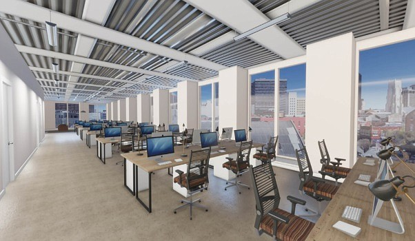CBRE Build, previously called Floored, is a 3D spacial visualization software.