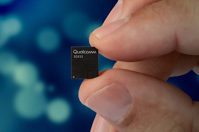 Qualcomm Inc.'s Snapdragon X55 modem was announced on Feb. 19. It will be the San Diego chipmaker's second 5G modem since it announced the X50 in 2016.