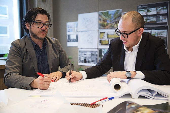 Superjacent founders Tony Paradowski and Chris Torres