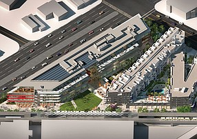 Rendering of the Ivy Station project