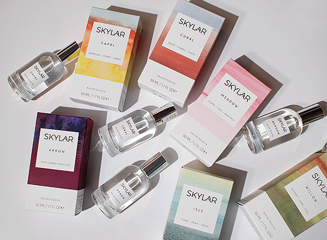 "Smell of Success?: Skylar Body makes what it says are ""clean"" fragrances."