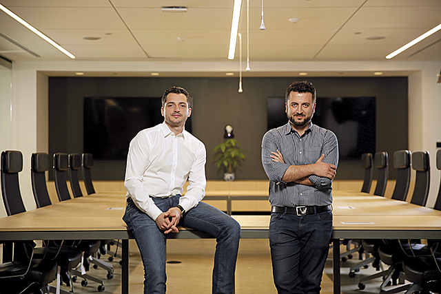 Homeward Bound: ServiceTitan founders Ara Mahdessian, left, and Vahe Kuzoyan.
