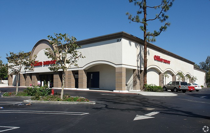 Office Depot Plaza at 11-25 E. Hillcrest Drive in Thousand Oaks.
