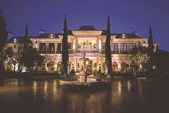 Living in Luxury: L.A. investor Max FowlerPazdro paid $56 million for 10-bedroom Le Belvedere.