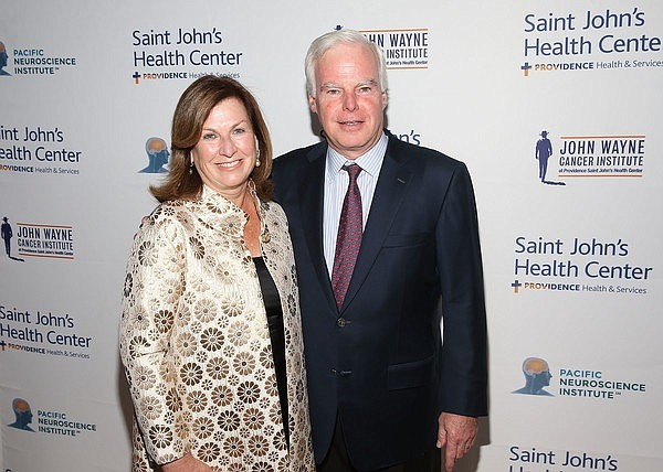 Mary and Jay Flaherty (photo courtesy of Saint John's Health Center Foundation)