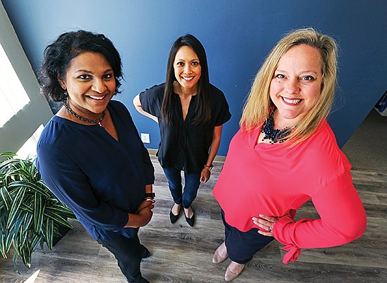 Entrepreneurs and investors Vidya Dinamani, Allison Long Pettine and Silvia Mah founded Ad Astra in 2018 with the goal of helping women founders grow their businesses.