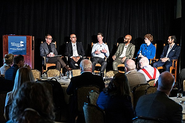 Life sciences investors discuss whether to bet on a biotech's science or the management team during a Feb. 27 investor panel at Biocom's 9th Annual Global Life Science Partnering Conference. Photo courtesy of Biocom