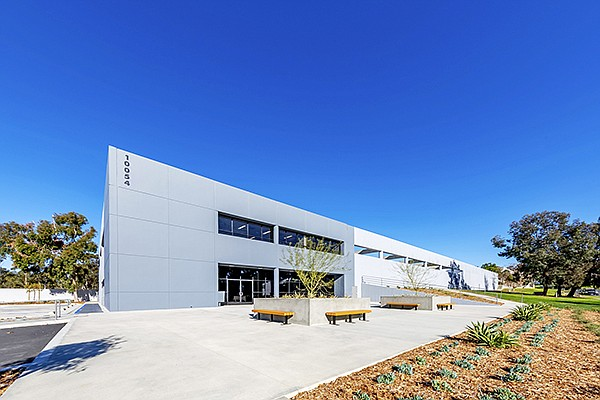 An aging Scripps Ranch industrial building has been renovated as investors look to meet a rising demand for industrial property. Photo courtesy of CapRock Partners