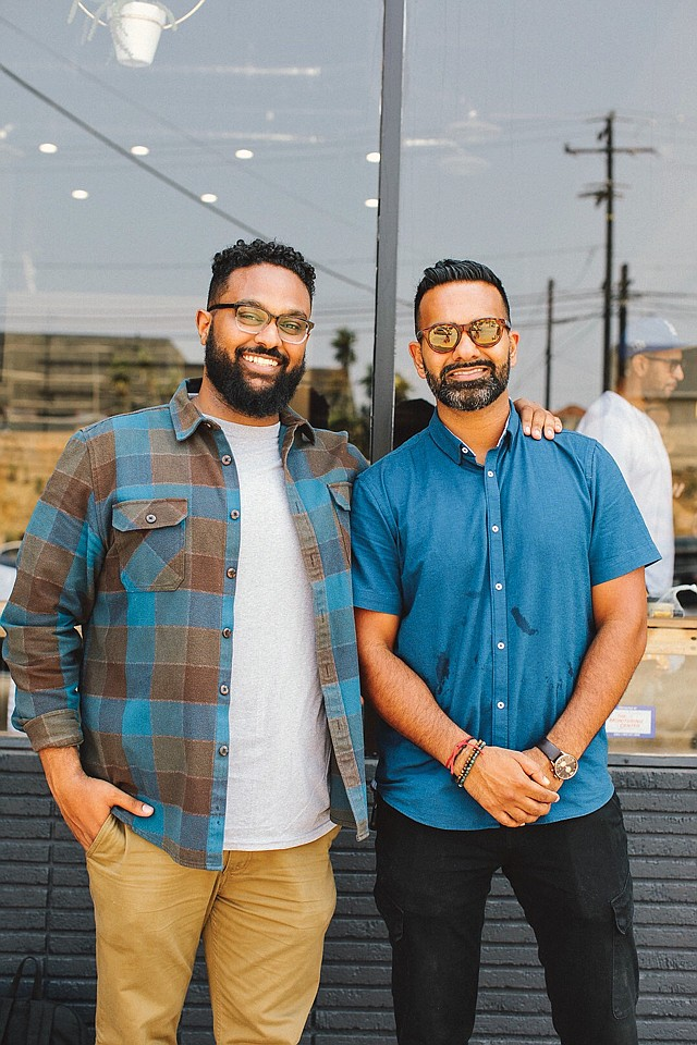 Home Cooking: Yonnie Hagos (left) and Ajay Relan focus on underserved areas