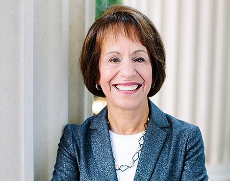 Carol L. Folt (photo courtesy of UNC Chapel Hill)